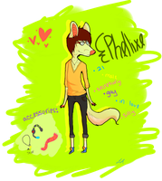 Phellixe Ref by Nonsensical-Me