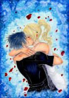 Lunafreya and Noctis - Final Fantasy XV by Raven-Punch