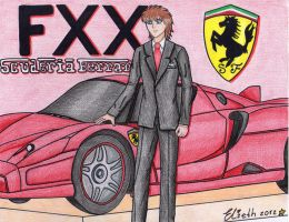Francesco Ferrari and his new toy by Elieth