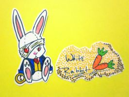.:White Rabbit:. by GoldenDragonSlayer