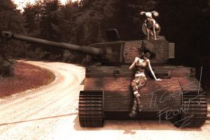 Tigers Front by RedWireDesigns