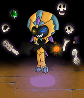 You've Disturbed The Pharaoh (colored) by Xander3000