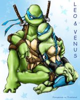 tmnt leo and venus 03 by propimol