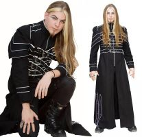 Cyberwraith Men's Coat by azdaja