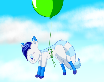 Balloon Ride by Salty-Bacon