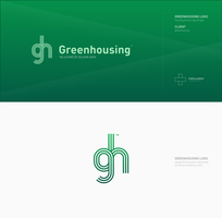Greenhousing logotype by porcelainkid