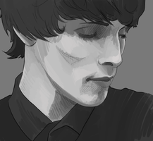 Colin Morgan by Elentori