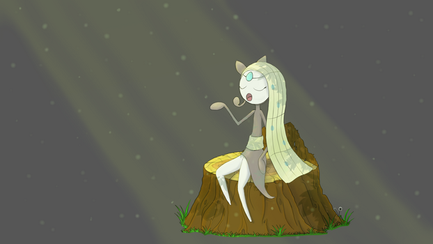 Meloetta Forest by cuate2