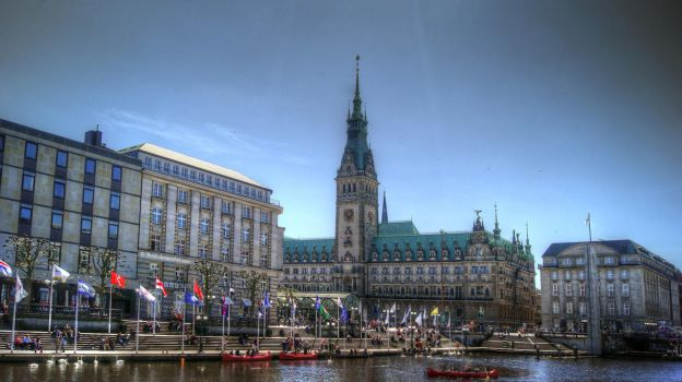 Hamburg Rathaus HDRi by Thrife
