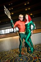 Aquaman and Mera 4 by megmurrderher