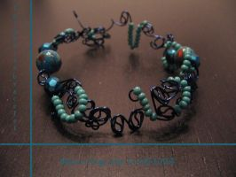 Turquoise Bracelet by Marie-Ange-the-Celt