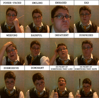 Emotions meme -bored- by root-for-theUNDERDOG