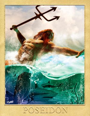 POSEIDON - GREEK GODS PROJECT