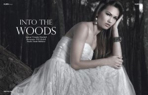 Into the Woods for 7Hues Webitorial by MadSDesignz
