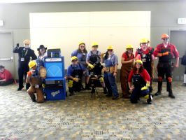 Otakon 2011 - Team Fortress 13 by mugiwaraJM