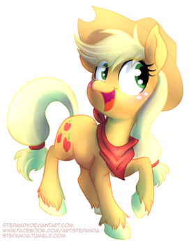Applejack by StePandy