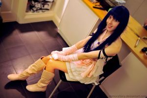 Minmay Cosplay 2 by DemoraFairy