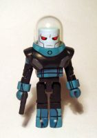 Mr. Freeze (JLU) Custom Minimate by luke314pi
