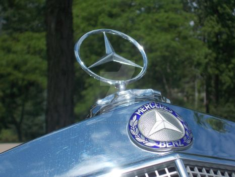 1957 Mercedes Cabriolet Hood Ornament by David3State