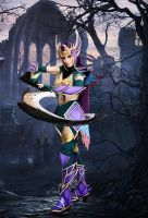 League of Legends - Dark Valkyrie Diana cosplay 01 by CZSKLoLCosplayers