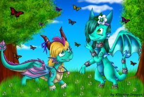 CE - Elen and Nelly by Klio-the-Dragon