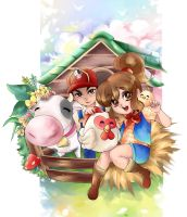 Harvest Moon The Lost Valley Contest by Mayla-Maraju
