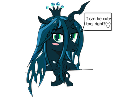 Queen Chrysalis ask you a question by ZzVinniezZ
