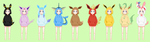 Eeveelutions Sweaters Base Edit :IggyPixel Base: by CLGbases