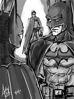 Bruce, Babs and Poor Dick by Archonyto