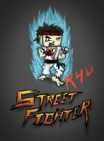 Street Fighter Ryu SD by Orion1189