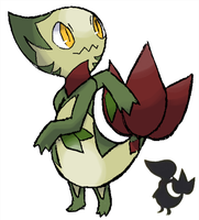 5th Gen Starter pokemon by kiraga-neko