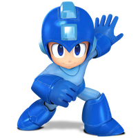 Megaman Classic Pose Render by Nibroc-Rock