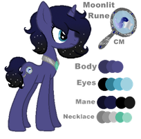 .:Reference:. Moonlit Rune (GIFTED AWAY) by Silent-Galaxies