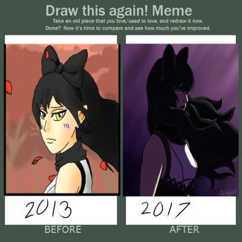 Blake 2013 vs 2017 by Jeddy017-VZ