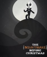 Nightmare Before Christmas Poster by LiltingMoone