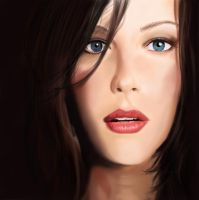 Liv Tyler Portrait - WIP by annaluci