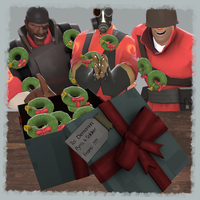 TF2 Community Contribution:  Wreath Grenades by emrfish6