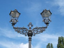 Berlin lantern 1900 by LoByteSo