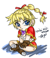 Fanart:Chrono Cross- Chibi Kid by yanagi-san