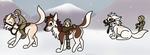 Rite of Fortitude - Heading Out For The Day by NativeWolf330