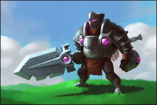 Spear Knight by F87w