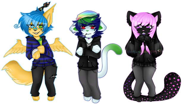 Smol - The Squad by NekoMellow