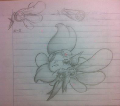 Sketching New Fanmade PvZHero by JackieWolly
