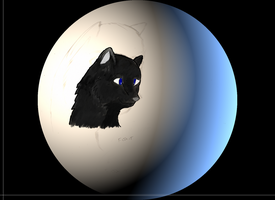 Wolf On The moon.. by Skunk-Mantra