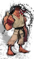 Ryu: Ink Edition by Zatransis