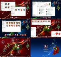 SkinPack My Christmas! Win7 by alexgal23