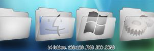 Windows- cool grey folders by lehighost