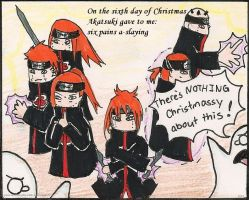 Akatsuki: Sixth day of x-mas by Shootingstar-pink