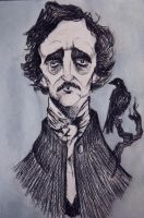 E.A. Poe by RomiaNyan