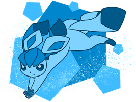 Glaceon by snowzahedghog